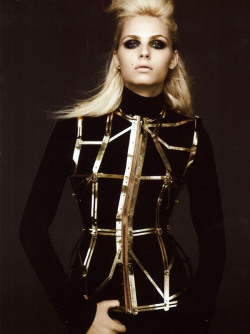 she-loves-fashion:  SHE LOVES FASHION: Andrej Pejic by Alix Malka for 7Hollywood Magazine