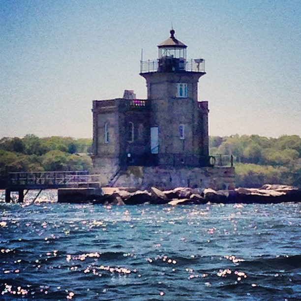 #huntington #harbor #lighthouse #long #island #sound #water