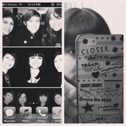 Pimped out T&S-style. #teganandsara #iheartsara #trq #skq #iphone #iphone5 #allmessedup #closer #heartthrob #teeandessing