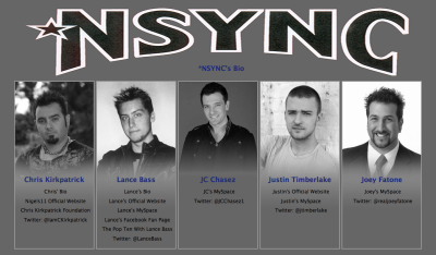 aliszoob:  this is what http://www.nsync.com/ looks like now  this makes it look like they all died