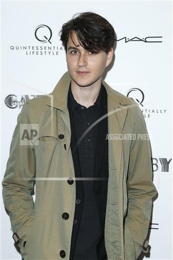 Ezra Koenig attends the Private Screening of THE GREAT GATSBY hosted by Quintessentially Lifestyle (Photo by Jimi Celeste via AP Images)
