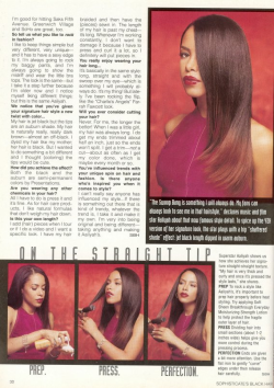 aaliyahalways:  Hair Routine - Article 2