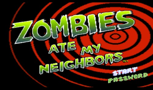 retroactivate:  Zombies Ate My Neighbors Lucas Ats 1993