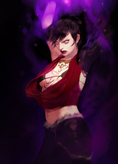andrastegrace:  Morrigan by ~pm92059