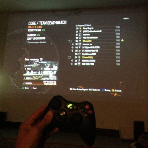 Picture I took from lastnight, playing COD on a projector  🎮 #NextLevelShit #Projected #COD #Xbox #GoodTimes #IGdaily #DopeSetUp #GoodLife #IGhub #igaddict #instagood #instadaily