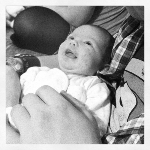 My beautifully smiley niece #baby #cute #smiles