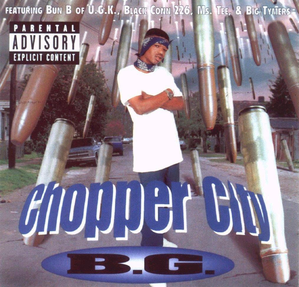 BACK IN THE DAY |1/25/96| B.G. released his second album, Chopper City, on Cash Money Records.