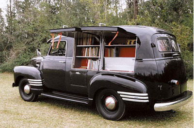 prettybooks:  1949 Bookmobile