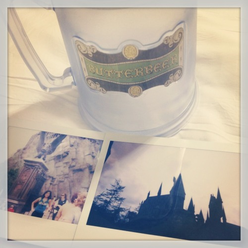 My trip to Hogsmeade and first taste of butterbeer!