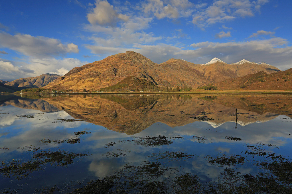 Loch Duich Reflections. (by Gordie Broon.)