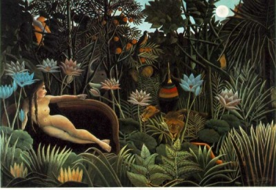 """The-Dream-Henri-Rousseau-1910"""