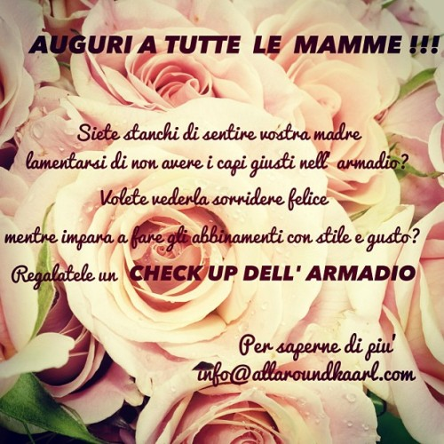 #mothersday#gift#checkuparmadio#allaroundkaarl#beaty#love#milan#personalshopper#fashion#instafashion#onlyforyou#onlyforme#instagram#instapad#picoftheday#photooftheday#roses#pink#today#onlyforaweek#queenforaday#ilovemum (presso www.allaroundkaarl.com)