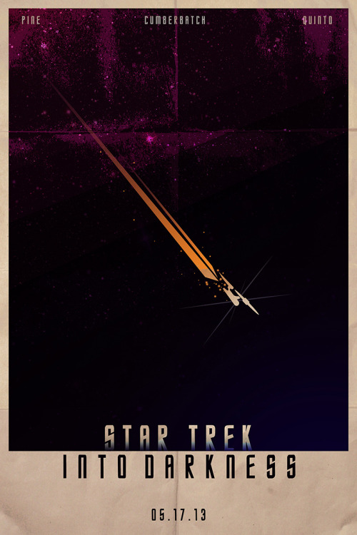becks28nz:  Star Trek - Into Darkness poster by ~SamMarkiewicz