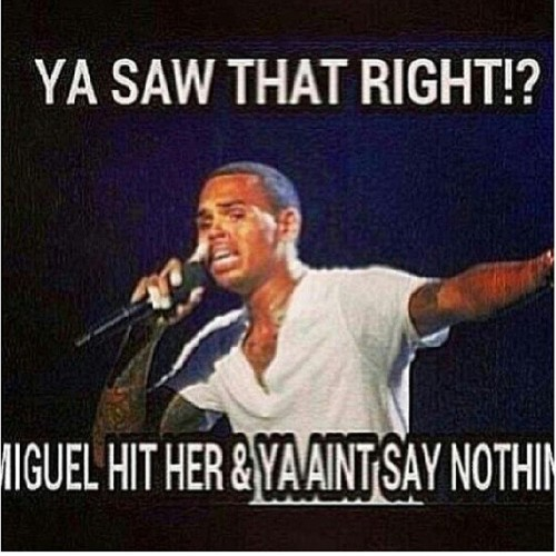 Aaaaahahahahaaa #lmao #lol #iCANT #miguel #ChrisBrown #smh yall #petty for this one.