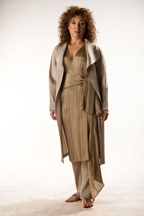 doctorwho:  River Song. Promo photo for this Saturday's Season Finale of Doctor Who: The Name of The Doctor