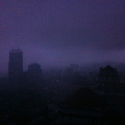 Dark KL @ 10.50 am #nofilter (at Menara AmBank)