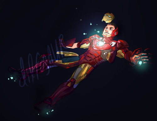 i'm gonna work a little more on this later, but iron man print for comicpalooza! big watermark because i need to start doing that just in case! wheezing!!!