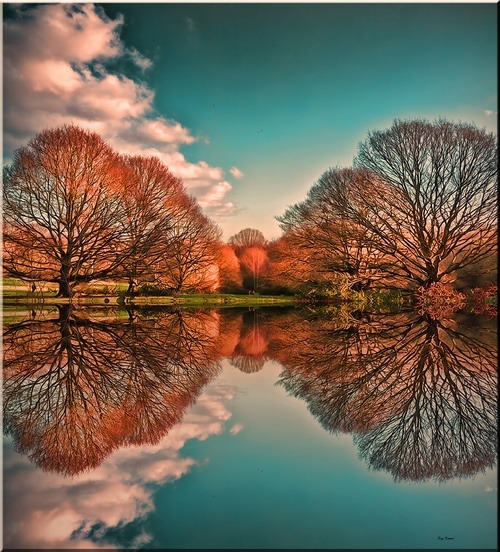 mandrag:  bluepueblo: Reflection, London, England, photo via janet