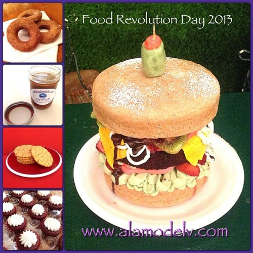 Joining the food fight! It's Food Revolution Day 2013! Fight the good fight & support better food choices. Eat healthy, eat happy! Join @jamieoliver & spread the word about #FRD2013   Yummy gluten free, vegan, corn free, rice free & soy free and made with 100% organic ingredients.   #bakery  #cornfree  #celiacawarness #foodporn #glutenfree  #lasvegas #livingglutenfree  #organic #purevegan #plantfoodforpeople #ricefree #soyfree #vegan #vegas #veganfood #veganmofo #vegansofig #veganvegas #veganbakery #vegancookies #veganfoodshare  #veganspin  #healthyeah #FoodNetworkFaves  #foodreveolutionday2013 #webstapick #frd2013