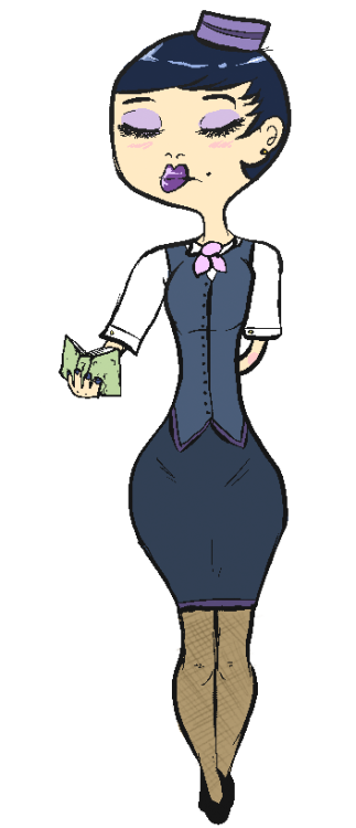 Stewardess. uvu
