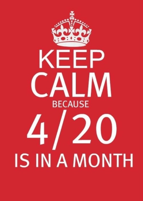 I've been awaiting this day since I woke up the morning after 4/20. And this year it's on a SATURDAY!!!!!