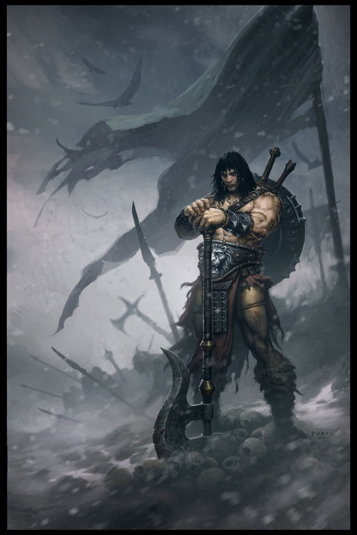 Conan The Barbarian By Froilan Gardner
