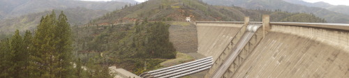 Shasta Dam, near Redding, CA.