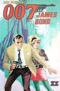 "Cover to the comics adaptation of ""From Russia With Love"" published in Chile."