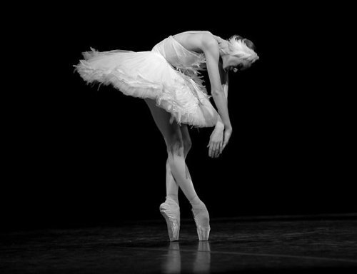 thedailyballet:  Uliana Lopatkina in The Dying Swan. Photo (c) Nikolay Krusser.