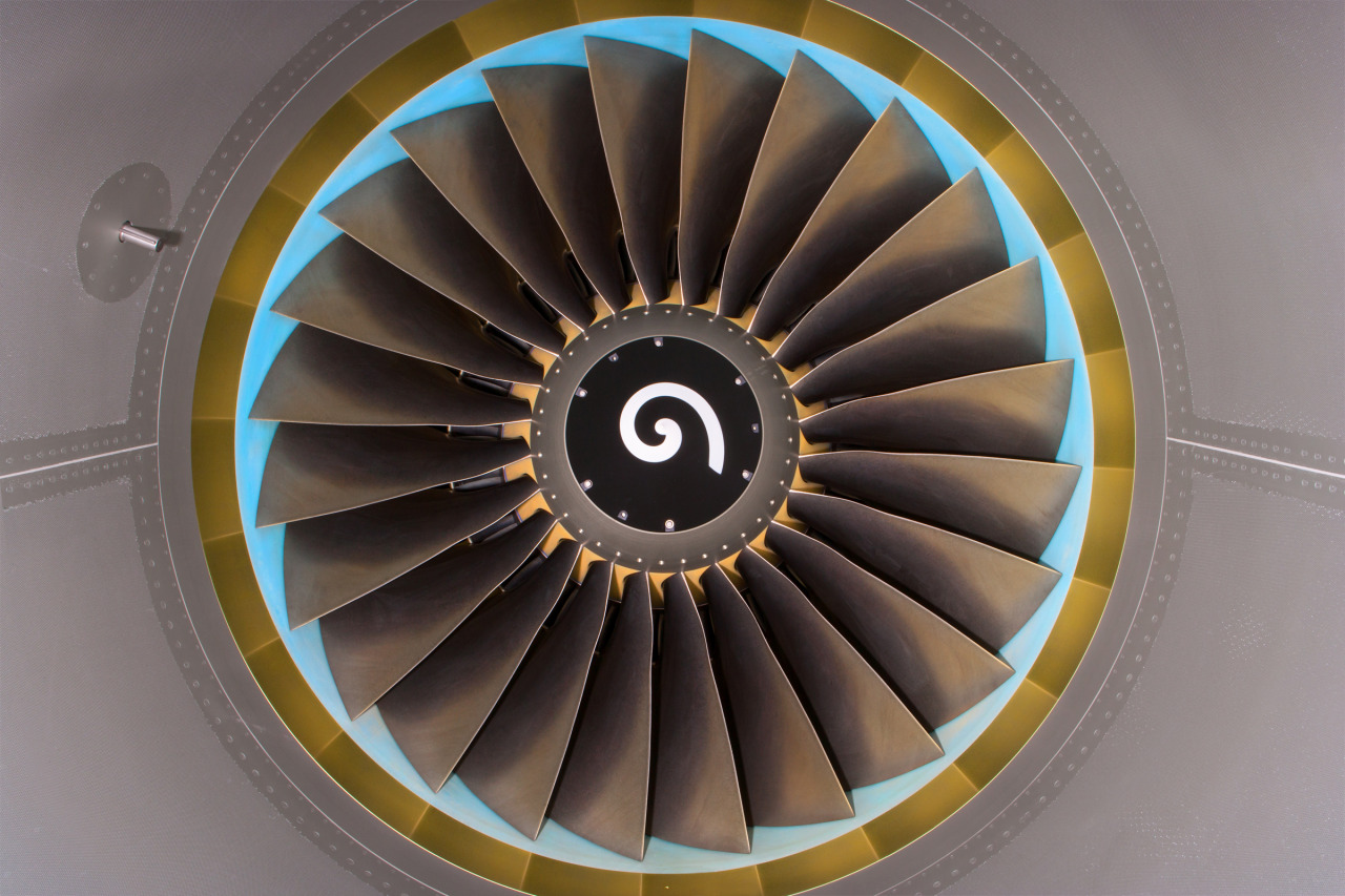 "adamsenatori:  ""CFM56-7B Jet engine""  Chicago, IL USA"