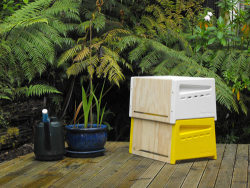 Urban beehive. Love it. With the bee population dwindling around the globe, Auckland, New Zealand native Rowan Dunford, developed a product to bring beekeeping to urban environments. With bees being critical to the world's food supply, creating products like the Urban Beehive could help stabilize the problem by easing the beekeeping process.Read more at Design Milk: http://design-milk.com/get-out-the-urban-beehive-by-rowan-dunford/#ixzz2JTt20HXT
