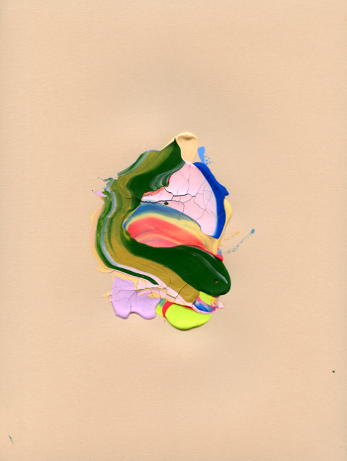 Mia Christopher, Untitled, 2012, Gouache on paper.