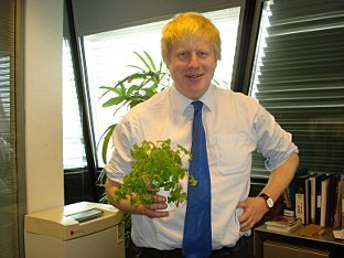 You missed Valentine's Day, Boris. And those aren't even flowers.