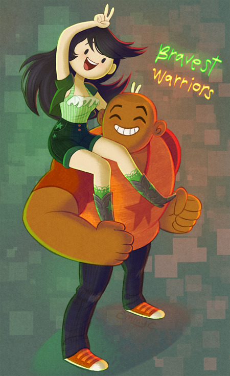 emmyc:  Here is some Bravest Warriors fanart I did ages ago but never got posted anywhere! whoops