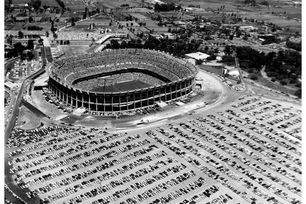Estadio Azteca, 1960's. Source: FIFA