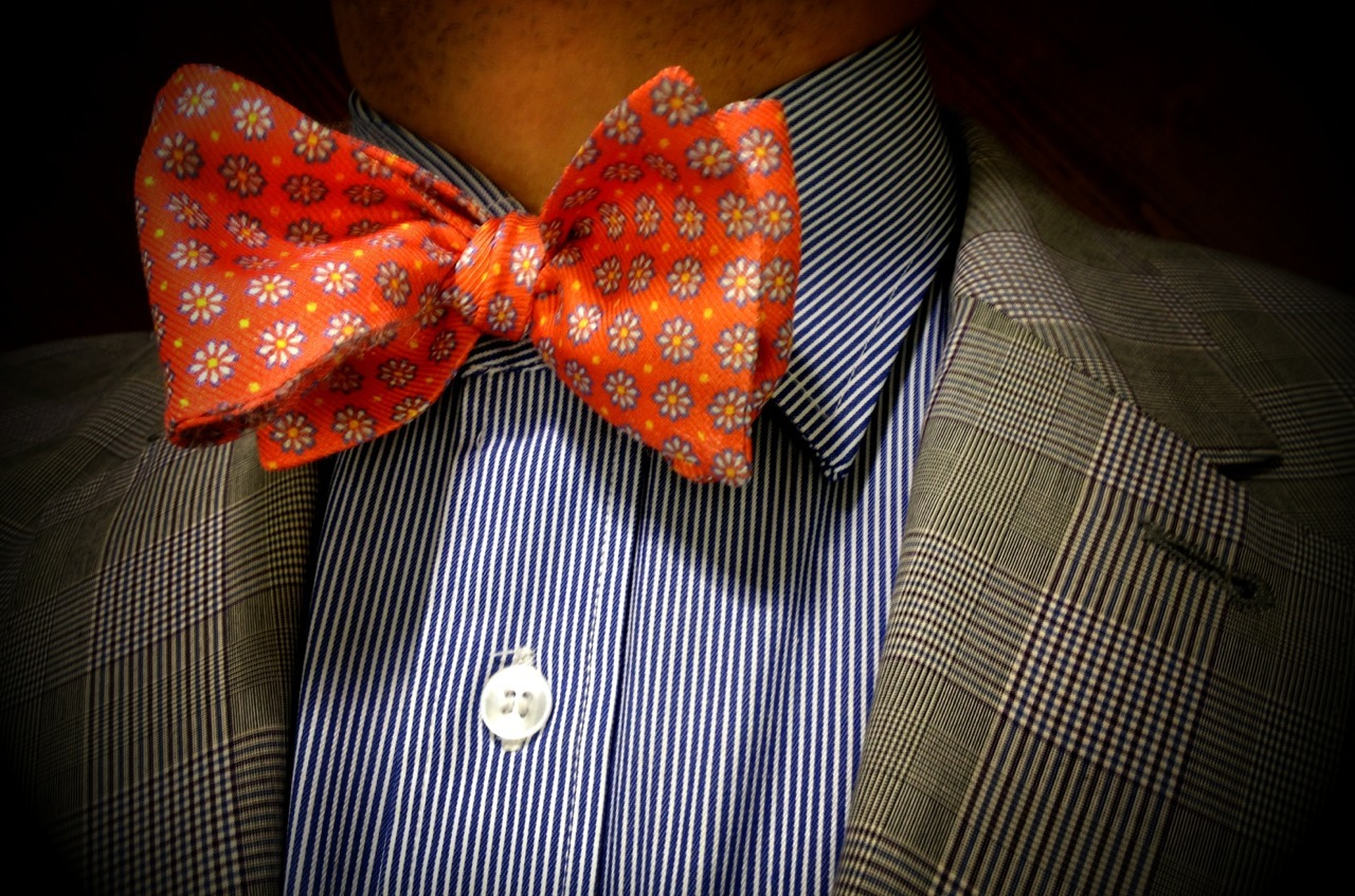 todaystie:  Barneys New York Bow tie - Paul Smith shirt and jacket
