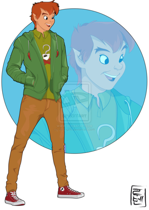 ibeggedformercytwice:  disneybound:  Disney Characters as College Students by Ruben  You included Jim, I could cry!?