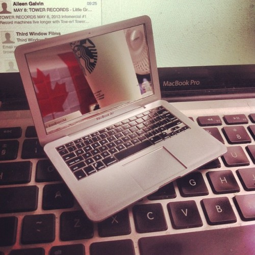 Now in stock! Buy these mini Macbook compact mirrors now in the Panic Dots shop! Www.panicdots.com #macbook #mirror #gifts #panicdots