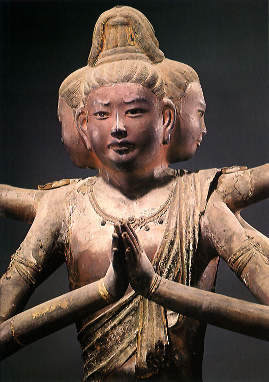 japaneseaesthetics:  National Treasure of Japan, Asura statue : Nara period (710-794), property of Kofuku-ji Temple 興福寺-阿修羅像(国宝)(via Pinterest)