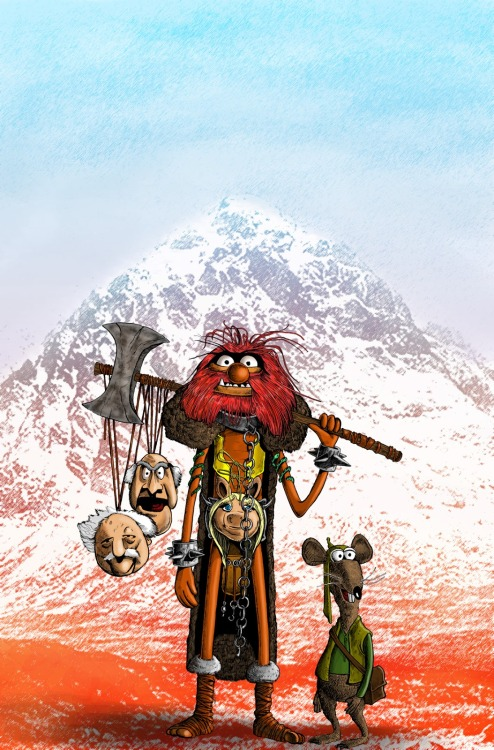 xombiedirge:  2000AD Muppet Mashups by Mark Chilcott
