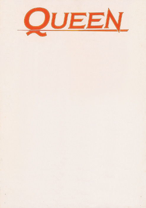 letterheady:  Queen, 1991 | Source Queen letterhead used by Brian May in 1991, shortly after the death of Freddie Mercury.  See also: Queen letterhead from 1973.