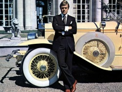 "Robert Redford in ""The Great Gatsby"" 1974"