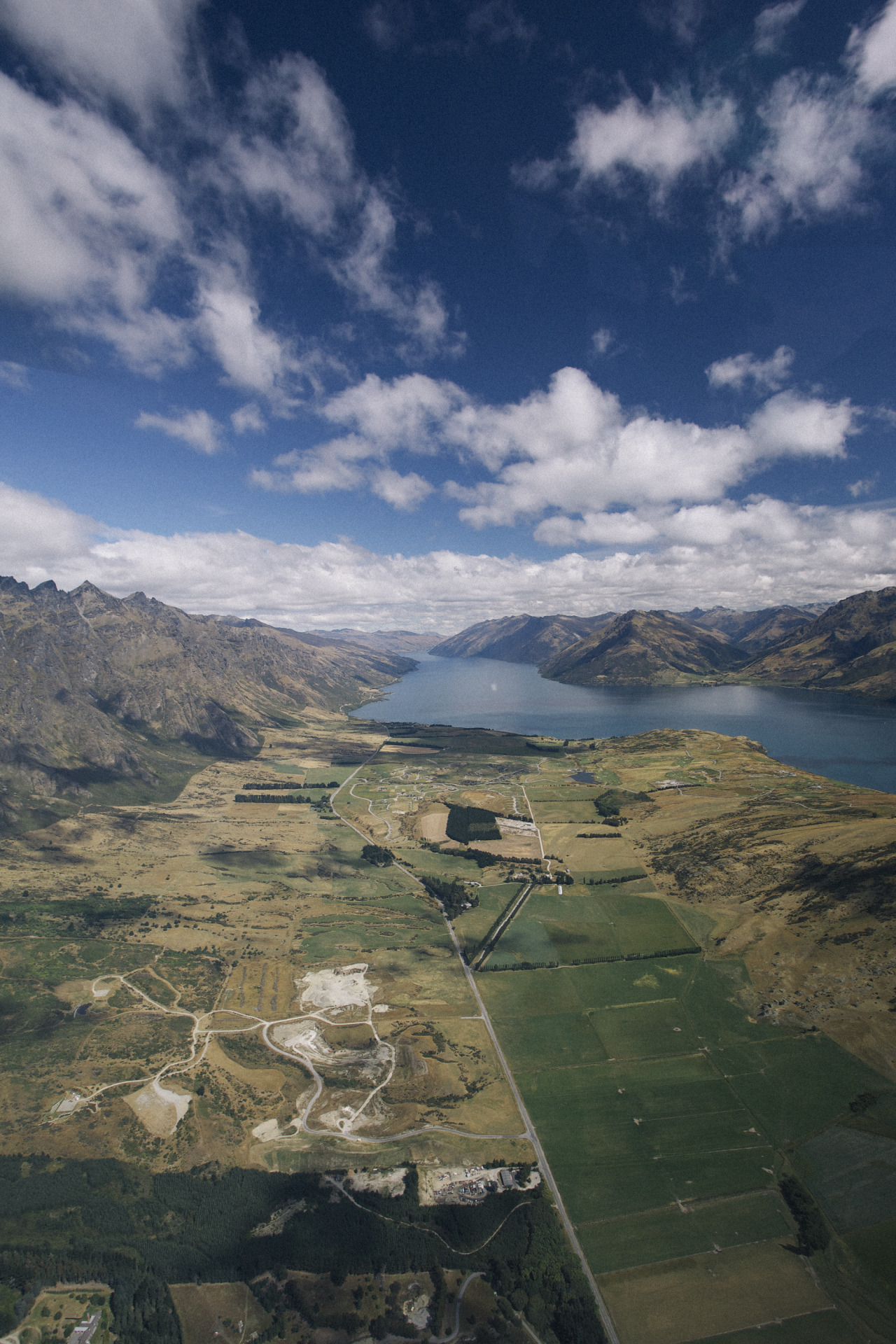 I took this when I was in a helicopter in Queenstown, New Zealand.