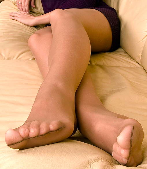 And Pantyhose Fetish Video Foot 53