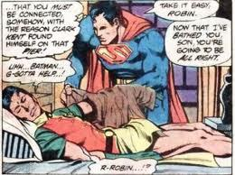 Superman, being a creepy dick to your underage sidekick is Batman's thing. Stop trying to hone in on his gig.
