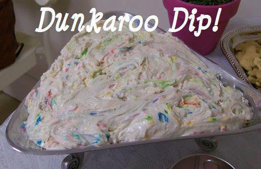 ihavestudyingtodo:  thegrimsleeper:  YO BITCHEZ, LOVE DUNKAROOS? WANT TO MAKE A MASS QUANTITY OF IT AND SAVE MONEY AT THE SAME TIME?? WELL HERE YOU FUCKING GO: 1 box funfetti cake mix (DO NOT add the ingredients that you usually would to actually make the cake - you need just the mix)2 cups plain yogurt1/2 container of cool whip.Serve with animal crackers or graham crackers.   SIGNAL BOOST THIS. HELP ME FEED MY PEOPLE.  holy fuck