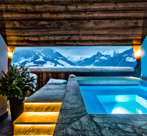 condenasttraveler:  Room with a View | Alpina Gstaad, Oberbort, Switzerland