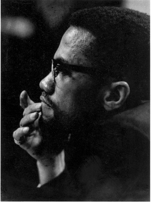 "mokujinn:  ""Nonviolence is fine as long as it works."" ― Malcolm X"