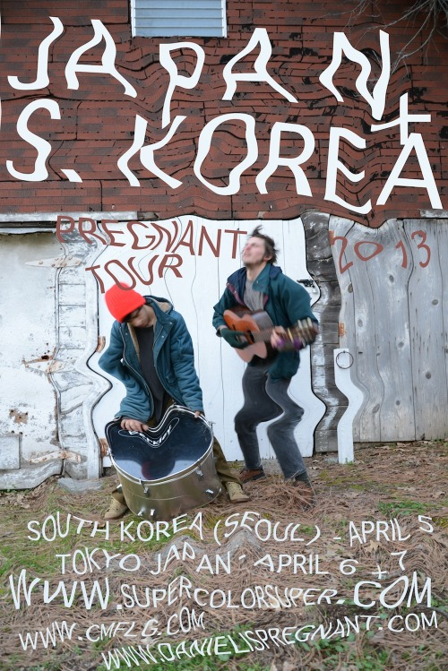 PREGNANT WILL BE IN SEOUL, SOUTH KOREA ON APRIL 5TH - MORE DETAILS SOON ON VENUE (PRESENTED BY http://supercolorsuper.com/ ) AND SHIBUYA TOKYO - JAPAN (APRIL 6TH @ HOME W/ PWRFL POWER - PRESENTED BY http://www.cmflg.com/ ) TBA - TOKYO JAPAN (APRIL 7TH - MORE INFO @ http://www.cmflg.com/ SOON) FACEBOOK EVENT PAGE http://www.facebook.com/events/177354279078276/