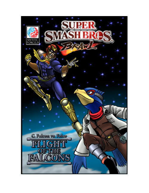 gamersashi:  Captain Falcon vs. Falco